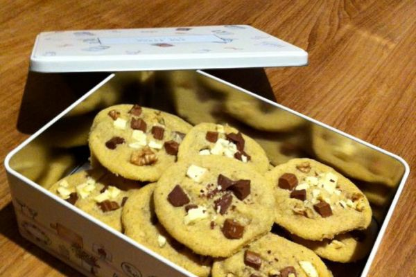 Recette Cookies moëlleux