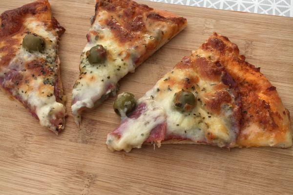 Recette Pizza coppa/gorgonzola