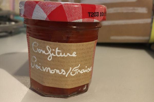 Recette Confiture poivrons/fraises