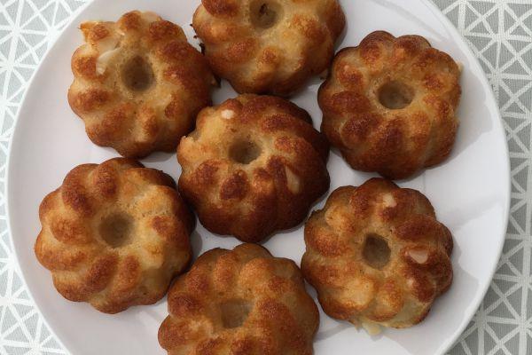 Gâteaux aux pommes sans oeufs