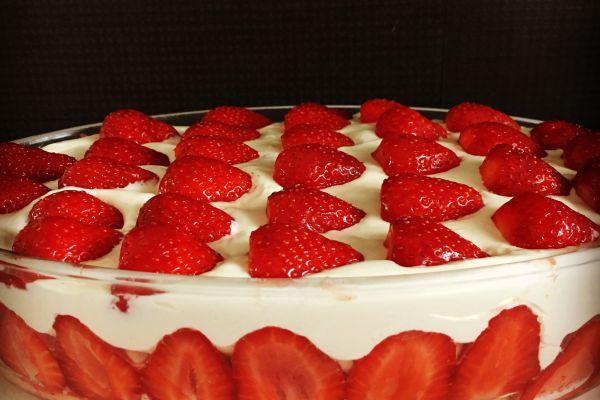 Tiramisu à la fraise