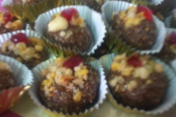 Recette Petits gâteaux sans cuisson énergetiques