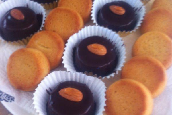 Recette Palets bretons variante glaçage  au chocolat