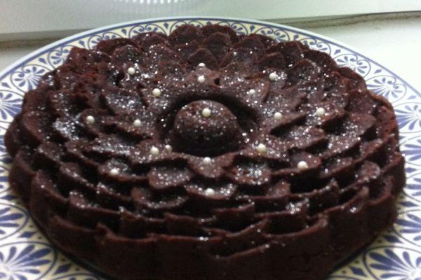 Recette Gateau chocolat-vanille