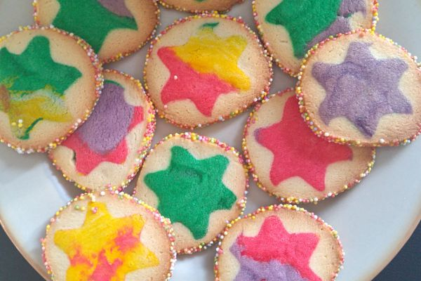 Recette Biscuits colorés