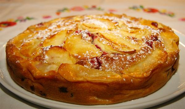 Recette Clafouti aux pommes