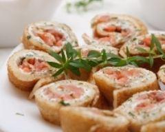 apéro Crêpes à l'oseille et au saumon