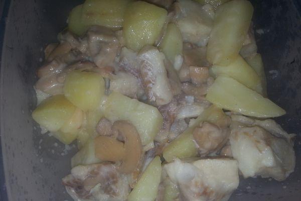 Recette Cabillaud aux pommes de terre COOKEO