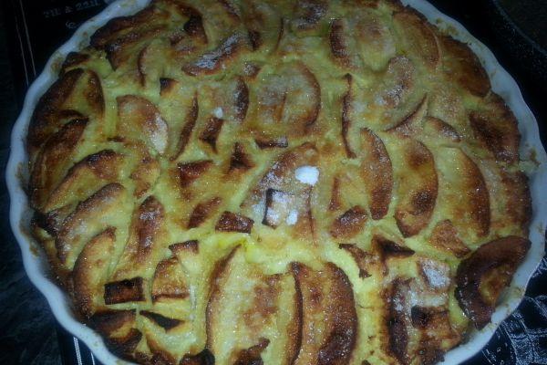 Recette Clafoutis aux pommes Golden