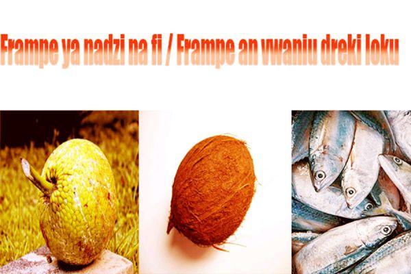 Recette Fruit à pain au coco et au poisson