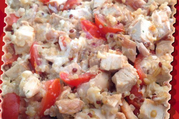 Recette Poêlée de Quinoa au poulet