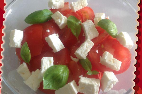 Recette Salade de tomates et feta