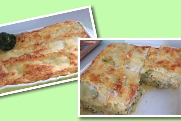 Recette Lasagnes au saumon et aux brocolis