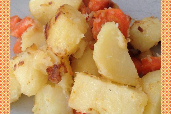 Recette Pommes de terre et carottes sautées Cookeo