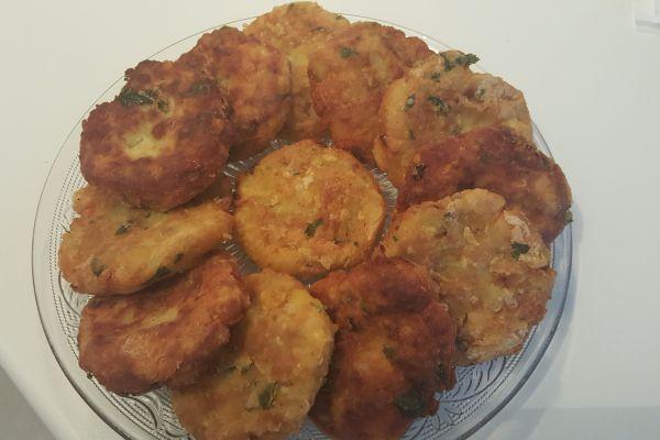 Recette Mâakouda ( galette de pomme de terre)