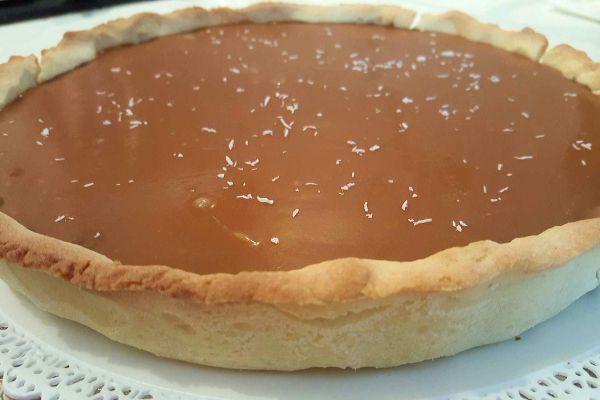 Recette Tarte ChOcolat Caramel Beurre Salé