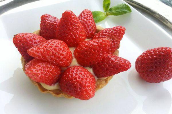 Recette Tartelette à la fraise