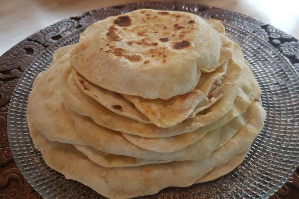 "Recette Chapati "" pain traditionnel indien"""