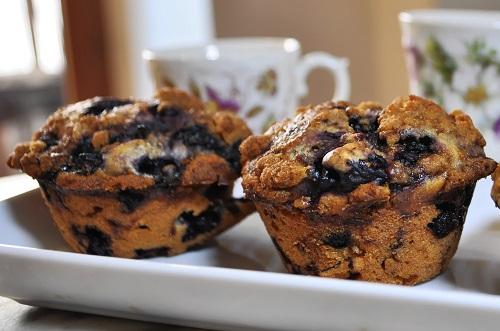 Recette Muffin aux Myrtilles