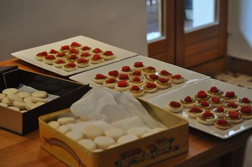 Macaron Pistache Framboise