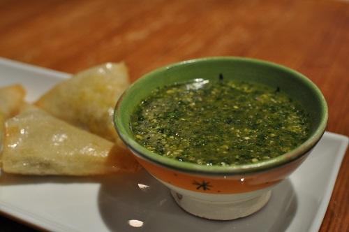 La sauce à Samossa