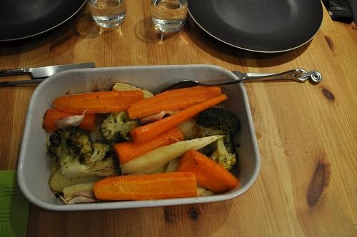 Recette Légumes Rôtis