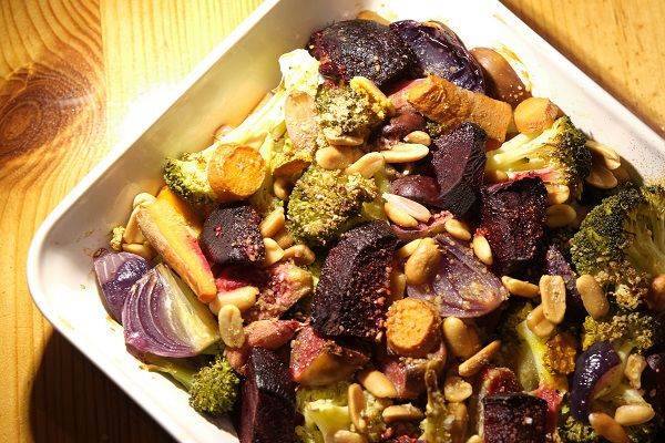 Légumes d'automne rotis
