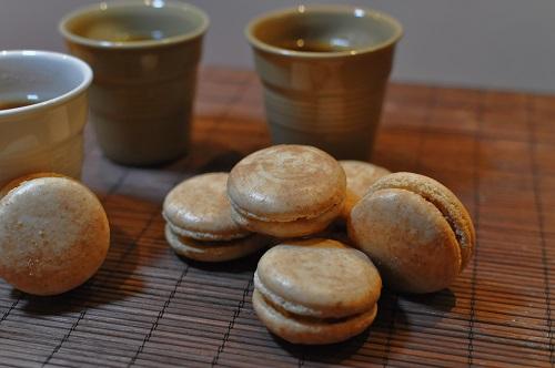 Macaron au Café