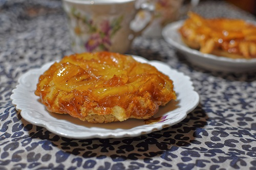 Recette Tatin d'Ananas