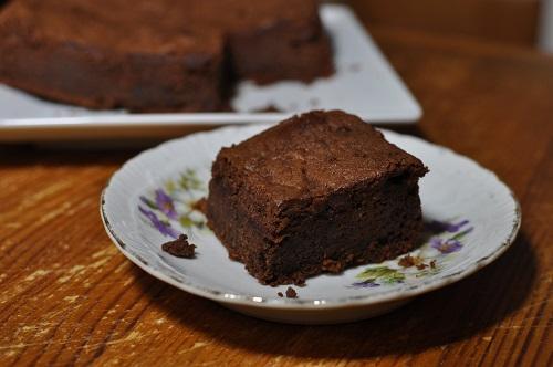 Gâteau au Chocolat et Crème de Marrons