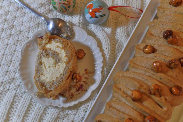 Recette Biscuit roulé Noisette Citron