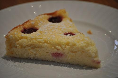 Gâteau Ricotta-Framboise