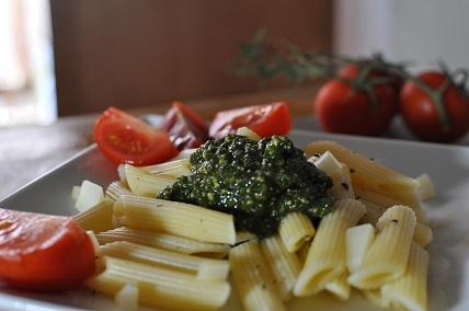 Recette Penne au Pesto