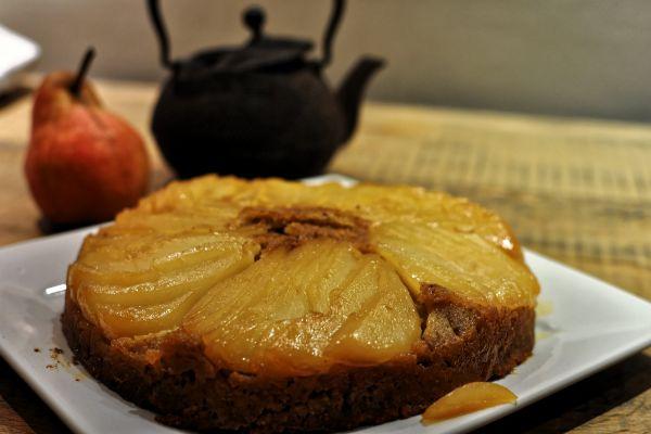 Recette Gâteau Renversé à la Poire