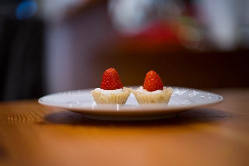Mini-Tartelettes aux Fraises