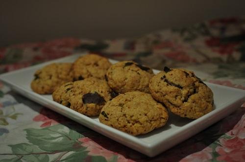 Recette Cookies chocolat menthe