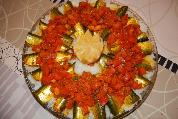 Recette Sardines à la chermoula