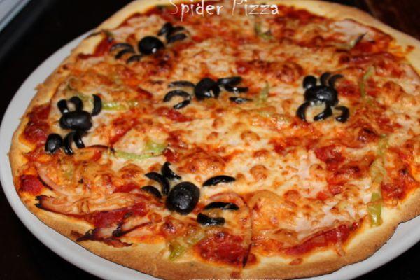 Recette spider pizza