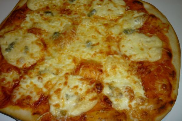 Recette pizza 4 fromages