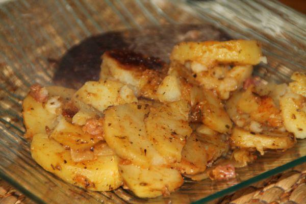 Recette Pommes de terre fondantes cookeo