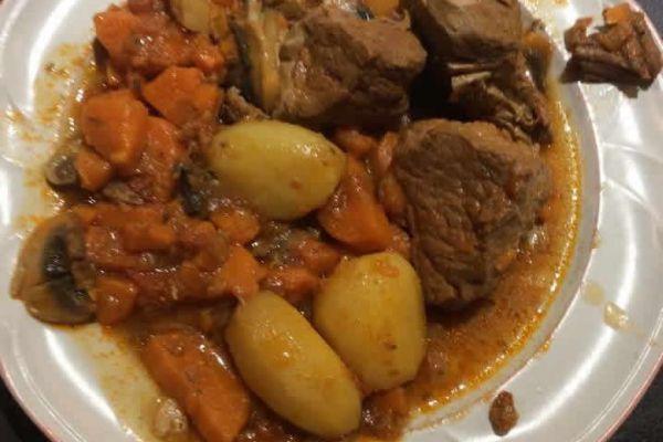 Recette Rouelle de porc pommes de terre au cookeo