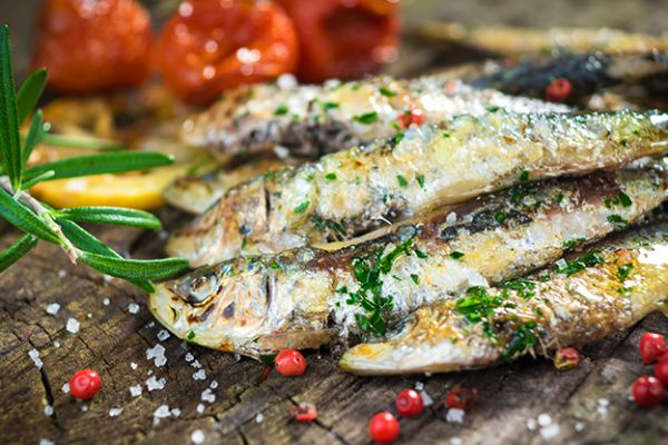 SARDINES THYM CITRON BARBECUE