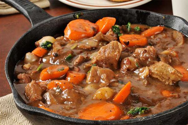 Boeuf bourguignon ou carottes