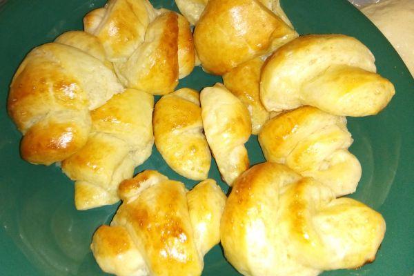 Recette Croissants au beurre express