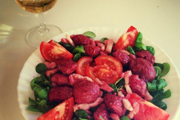 Recette salade de gésier