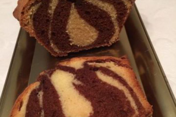 Recette marbré au chocolat ( le vrai )