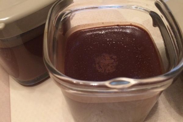 yaourts au chocolat façon grand -mère a la multi délices