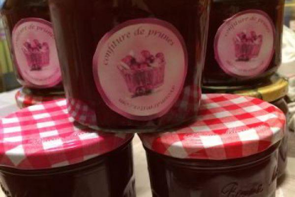 Recette confiture de prunes