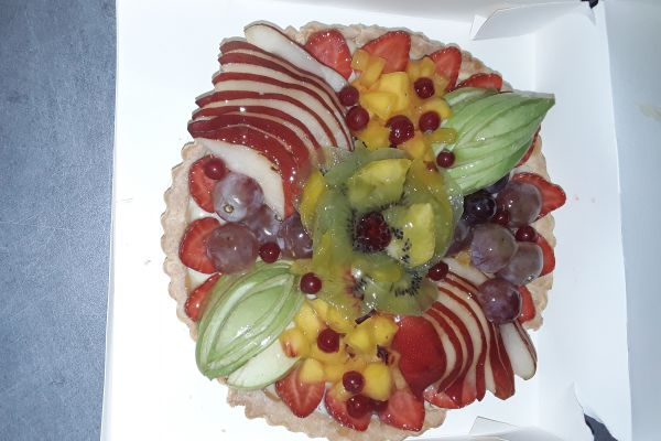 Tarte aux fruits sans gluten